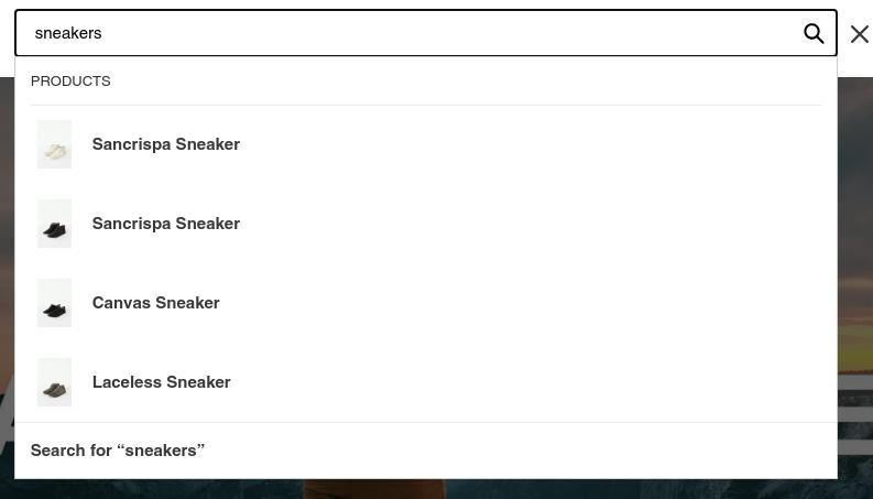 Regular sneaker search