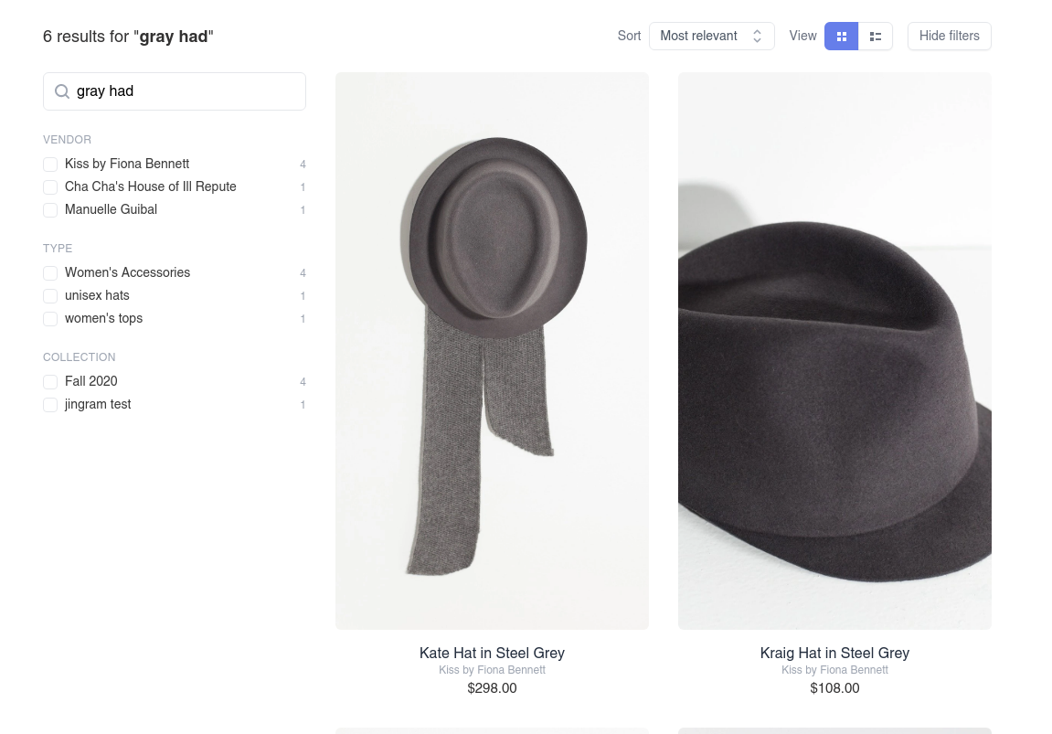 Grey hat search results