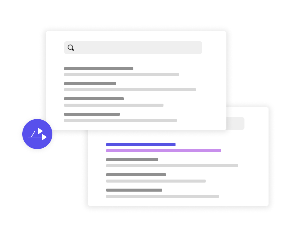 A/B testing for site search