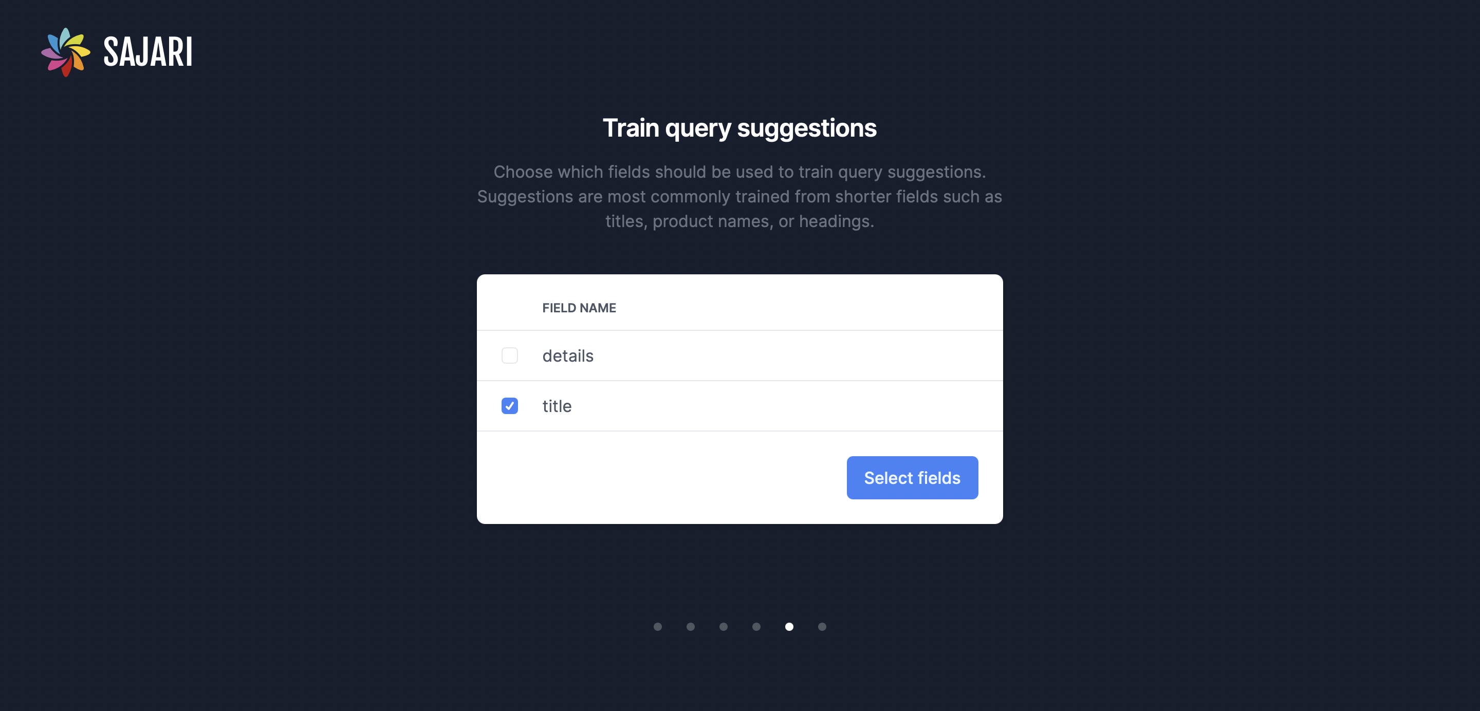 Train Query Suggestions
