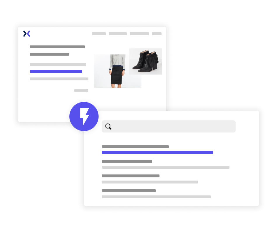Instant indexing for site search