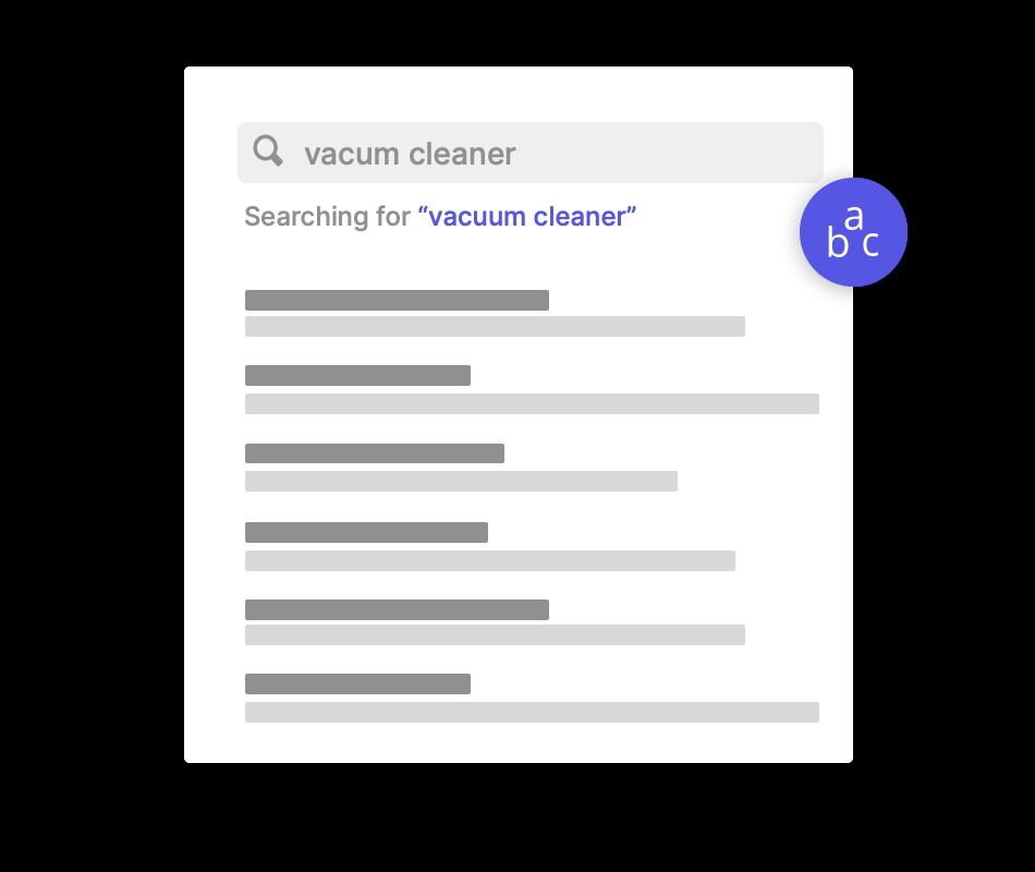 Multi-language search