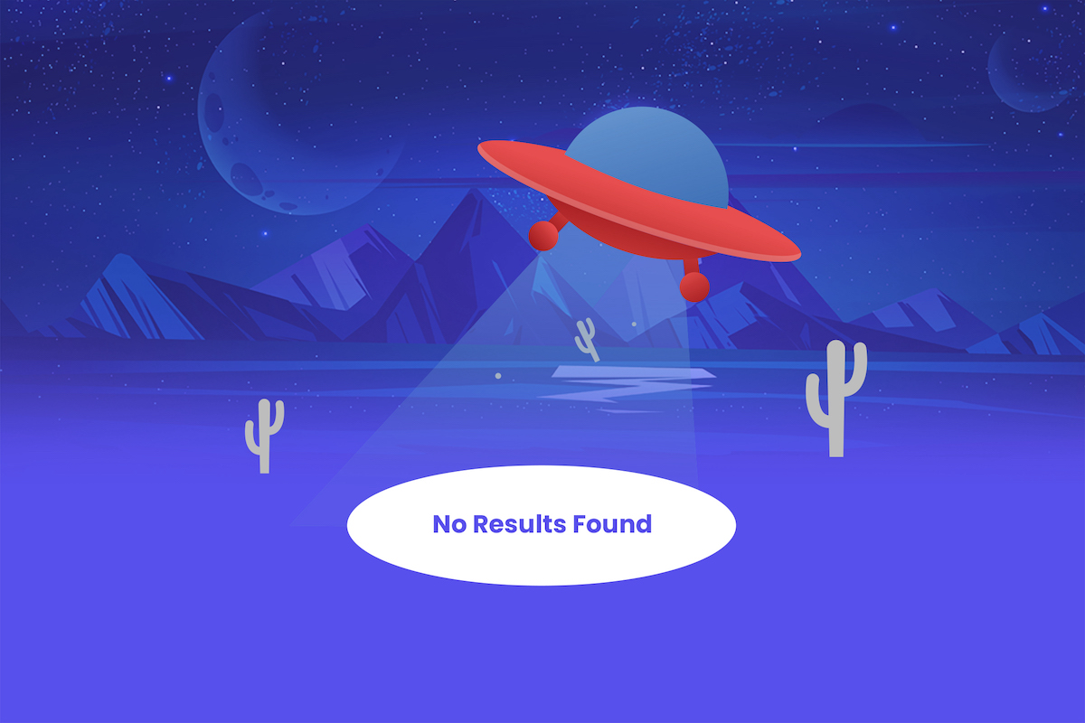Avoiding No-Result Searches