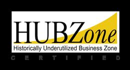 HUBZone Certified - Historically Underutilized Business Zone