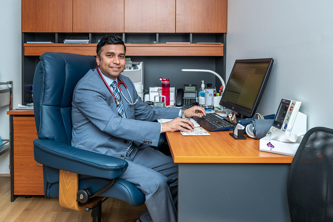 Photo Of Dr. Sazeedul Islam, Practice principal of North richmond family medical practice.