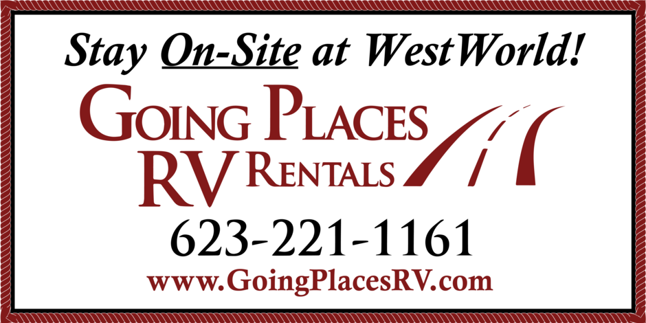 Going Places RV Rentals - Stay On-Site at WestWorld!