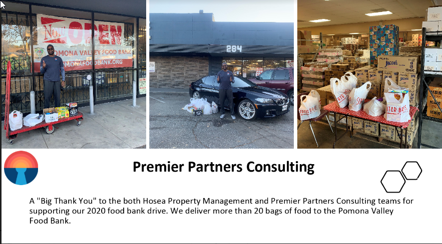 Pomona Food Bank Delivery
