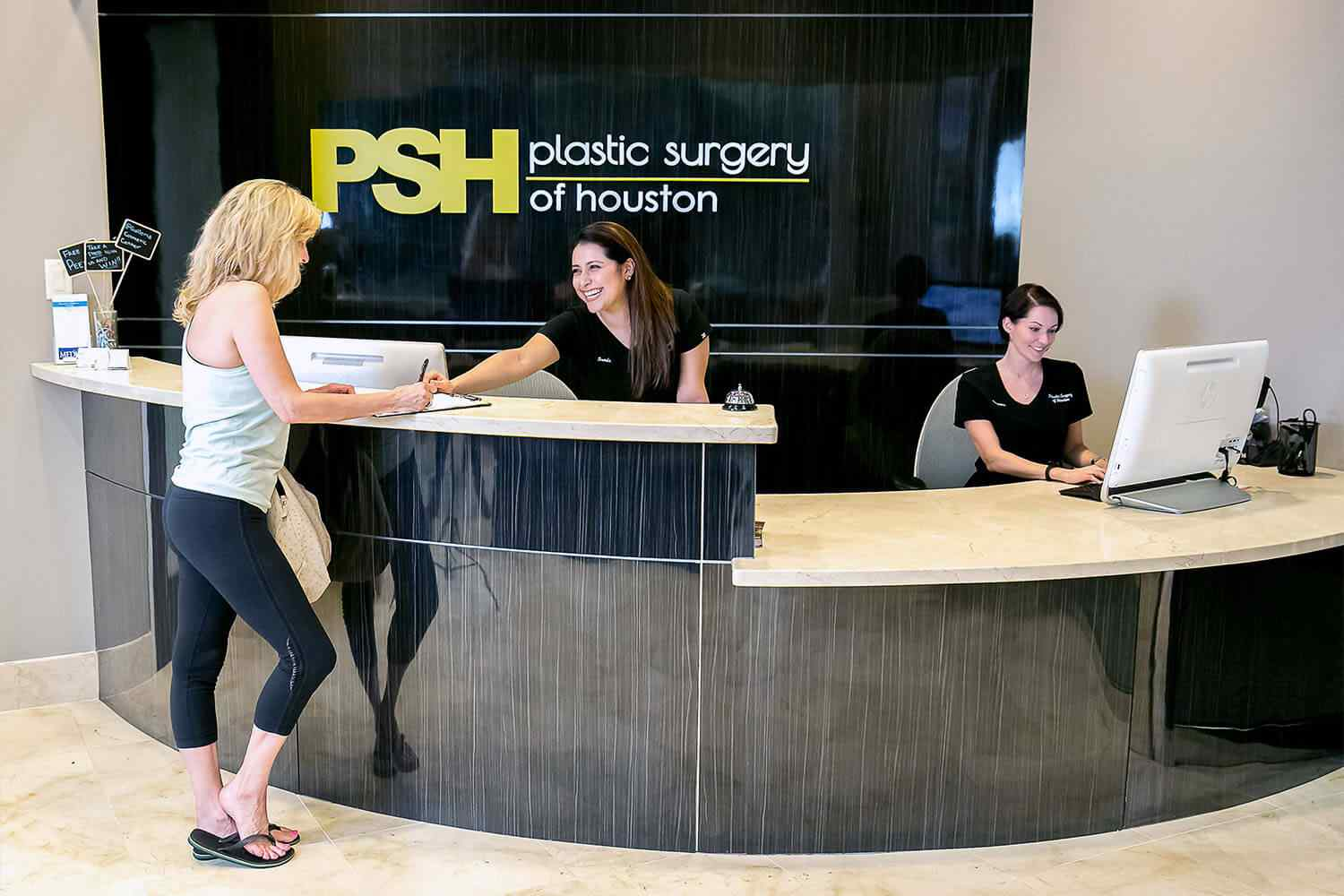 Plastic Surgery of Houston specializes in cosmetic and reconstructive procedures. We helped re-launch their website with fresh new photography, before and afters, reviews and credentials.