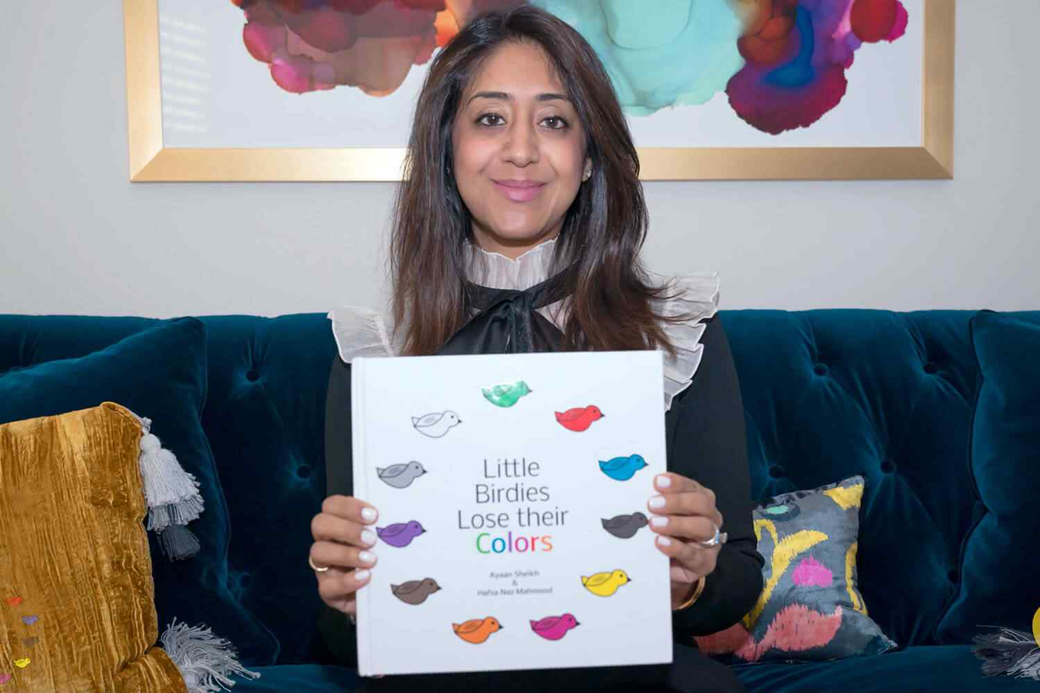 Little Birdies Lose their Colors is a children's book about different colored birds who are the greatest of friends. We helped the authors launch their website to sell their new book!