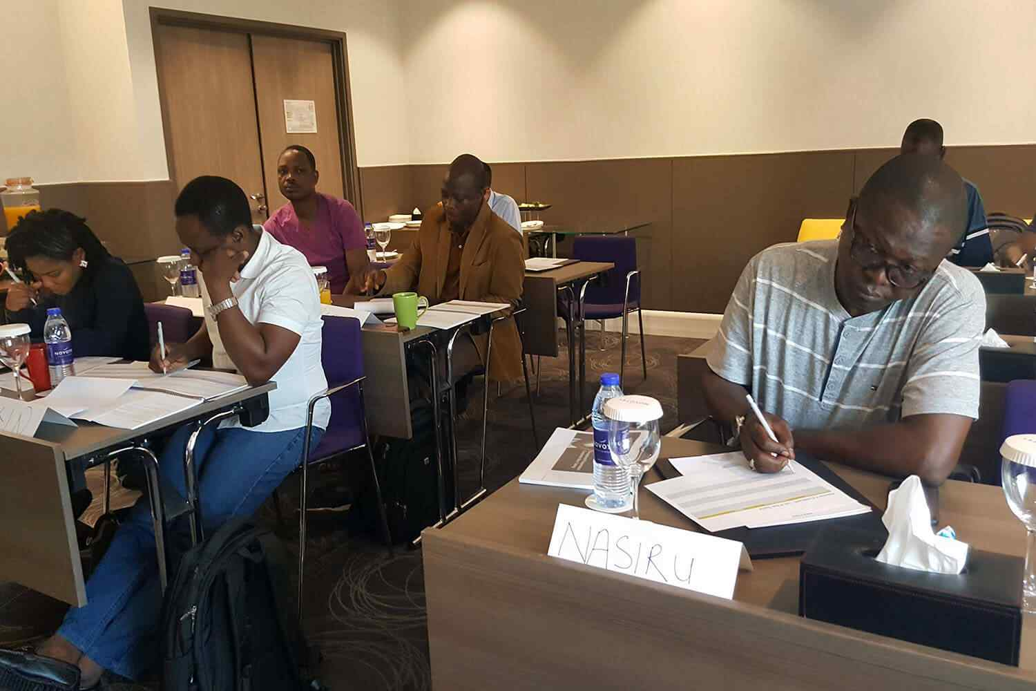 National Nigerian Petroleum Corporation hired us to train 300 engineers the art of storytelling, how to get to the point and not be boring. A very hands-on coaching transformation workshop.