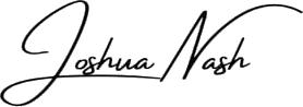 joshua nash signature logo