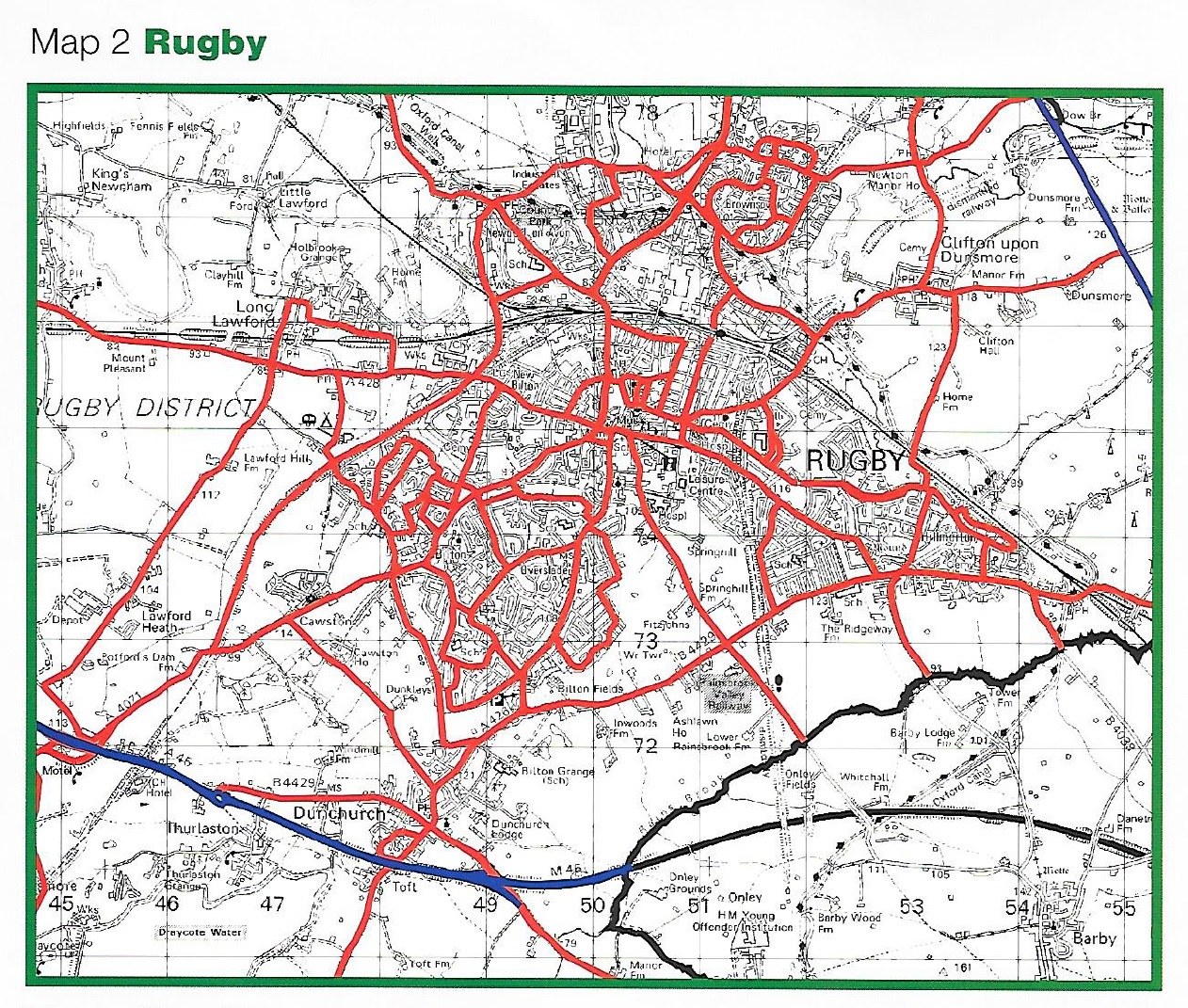 Winter Gritting Routes