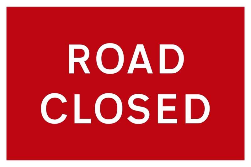Temporary Road Closure – North Road