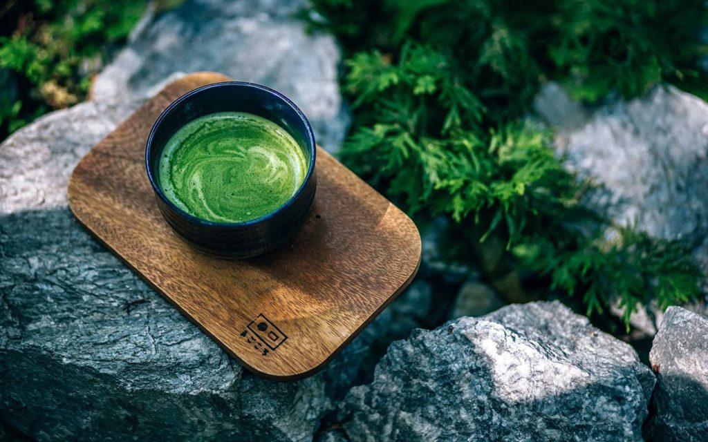 Matcha Tea Drink Asia