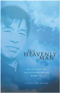 The Heavenly Man - cover