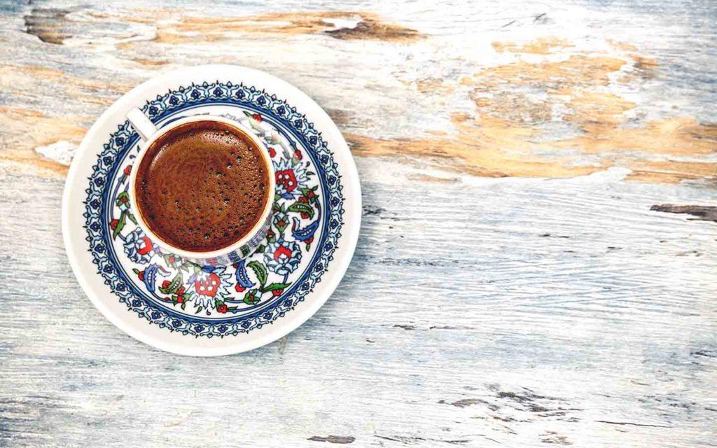 Turkish Coffee Drink in Asia