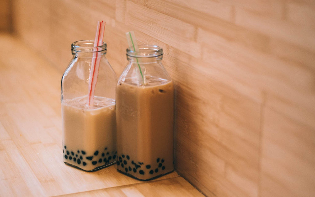 Boba Tea Drink Asia