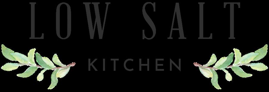 Low Salt Kitchen homepage
