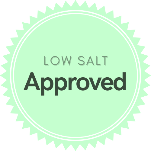 Low Salt Approved product