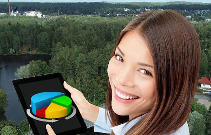 Business development by utilizing data
