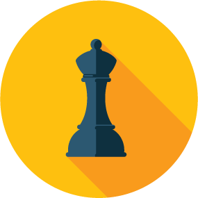 SEO Strategy chess piece