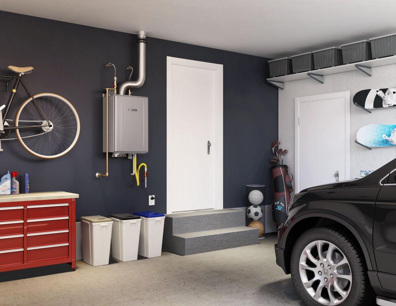Water Tank in Garage
