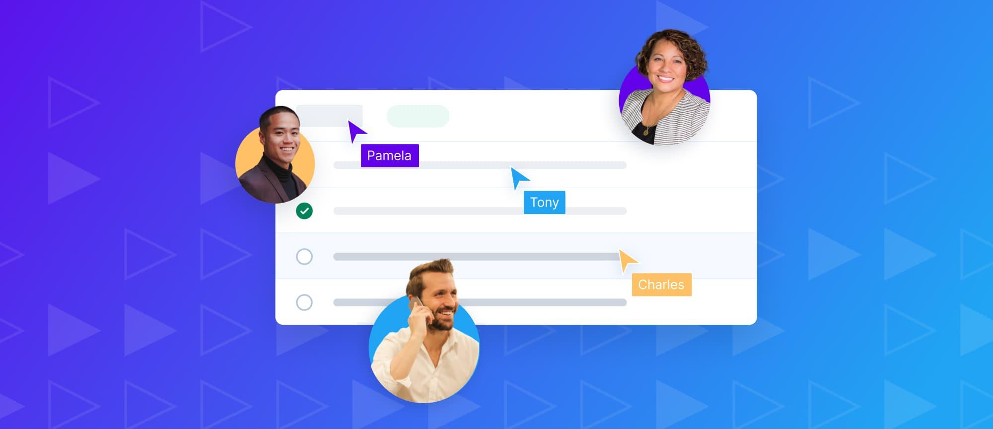 Transparent sales process - working together