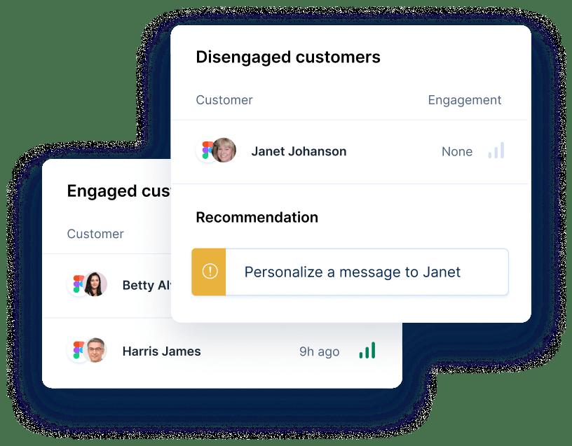 sales reps widget example