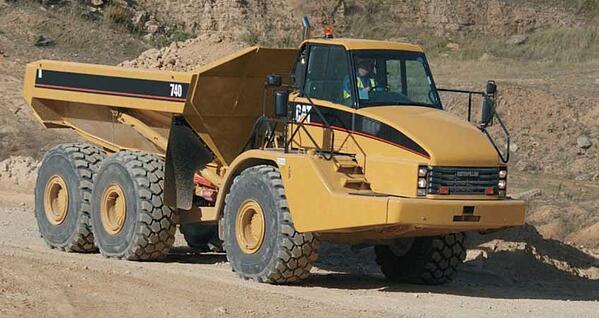 CAT 740 Articulated Dump Truck