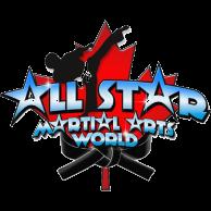 All star martial arts logo