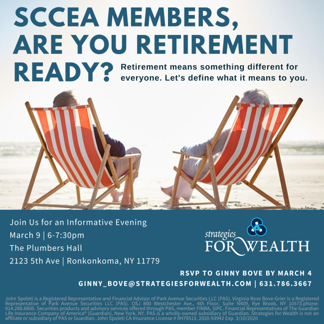 SCCEA Retirement