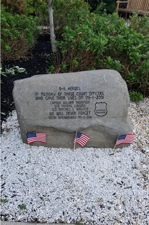 20th Anniversary 9/11 Ceremony Riverhead County Court