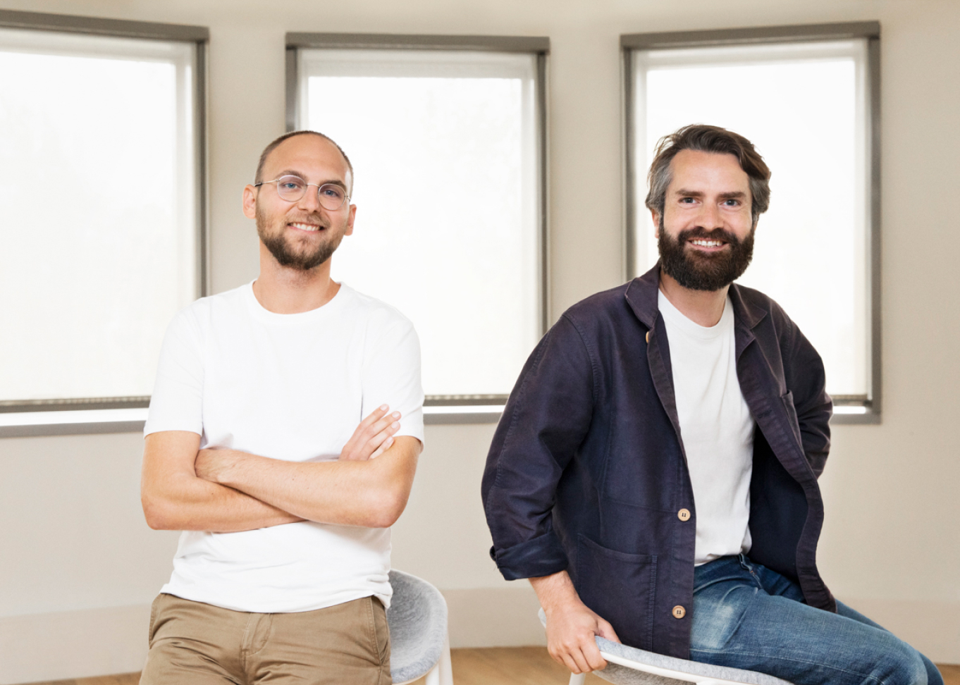 Photo of Alan's co-founders