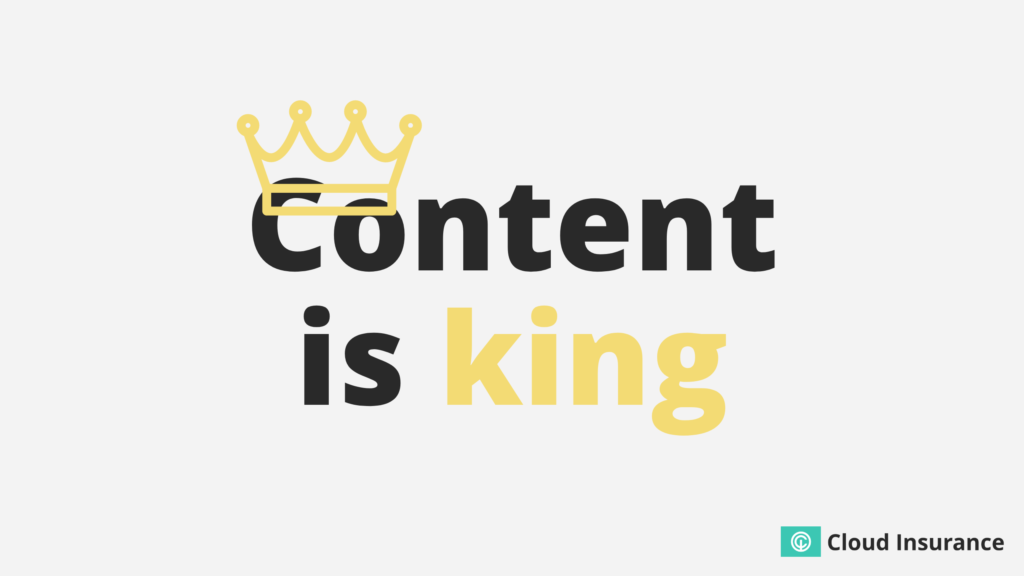 Content is king.