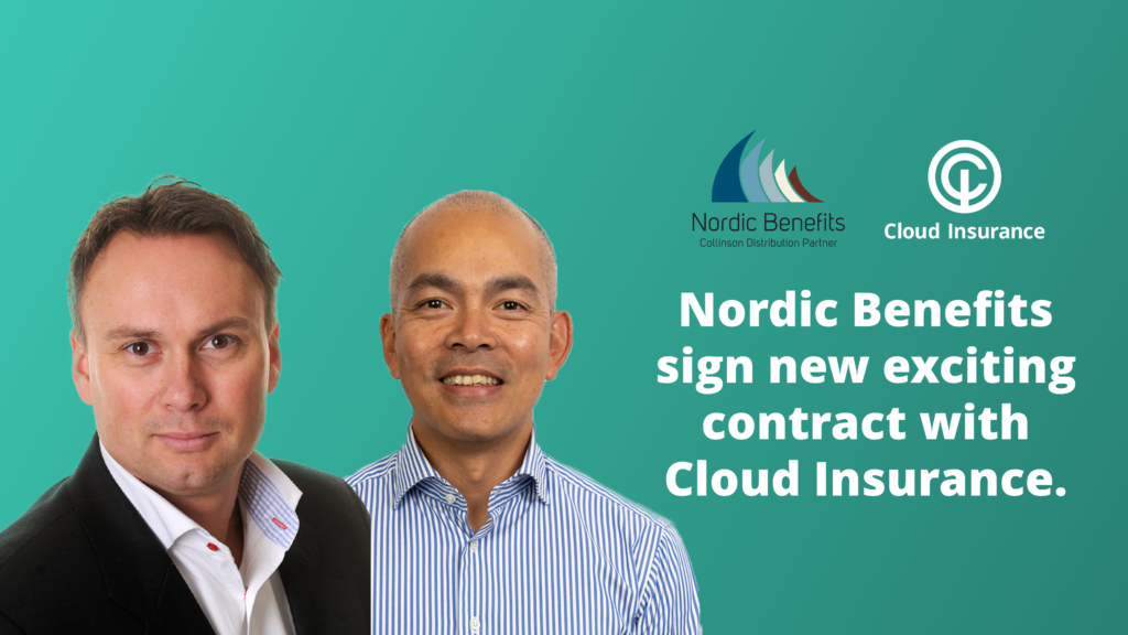 Nordic Benefits sign exciting new contract with Cloud Insurance.
