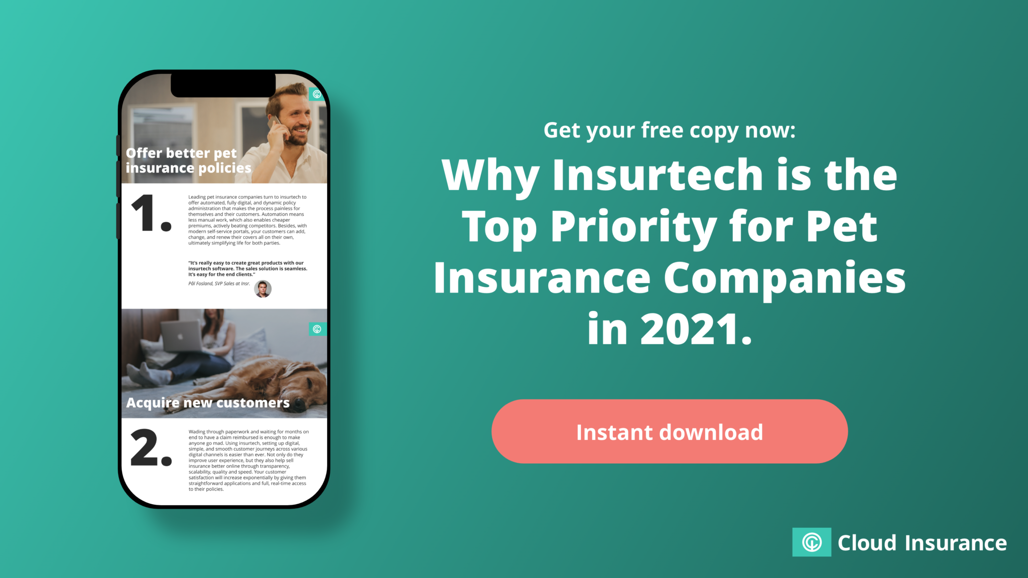 Why insirtech is the top priority for pet insurance companies in 2021
