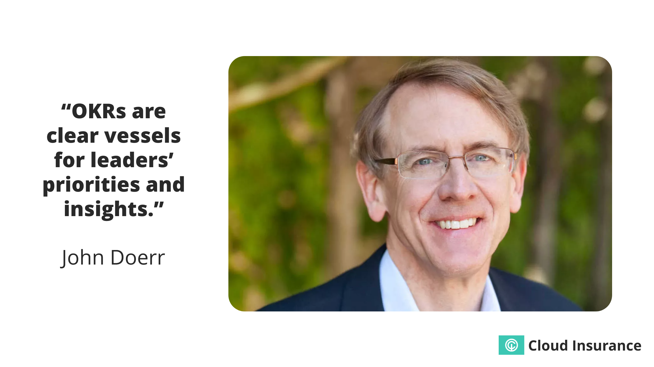 Quote from John Doerr.