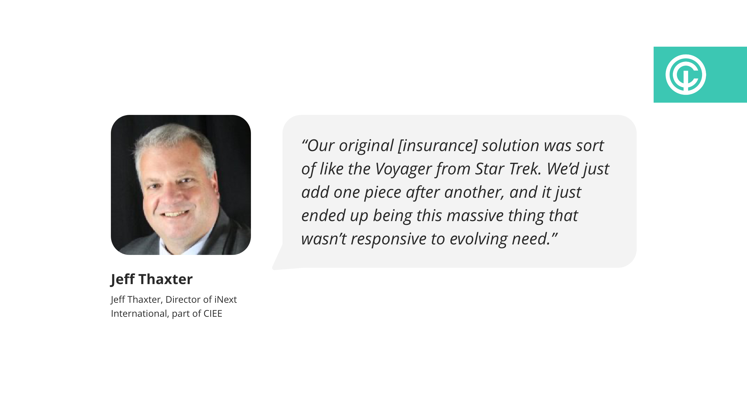 quote from jeff thaxter