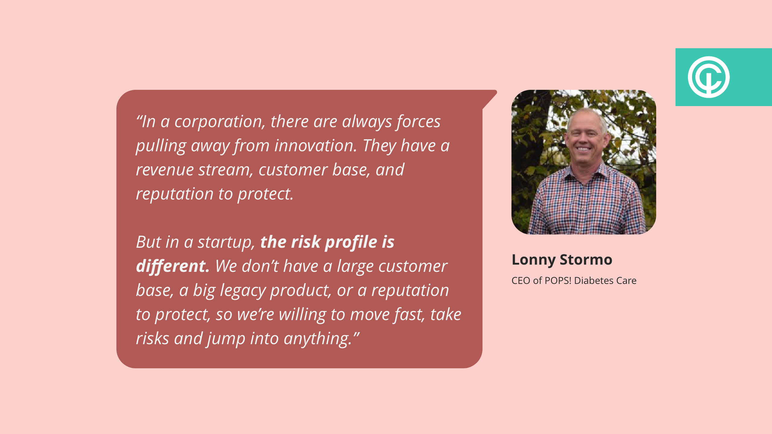 quote from lonny stormo