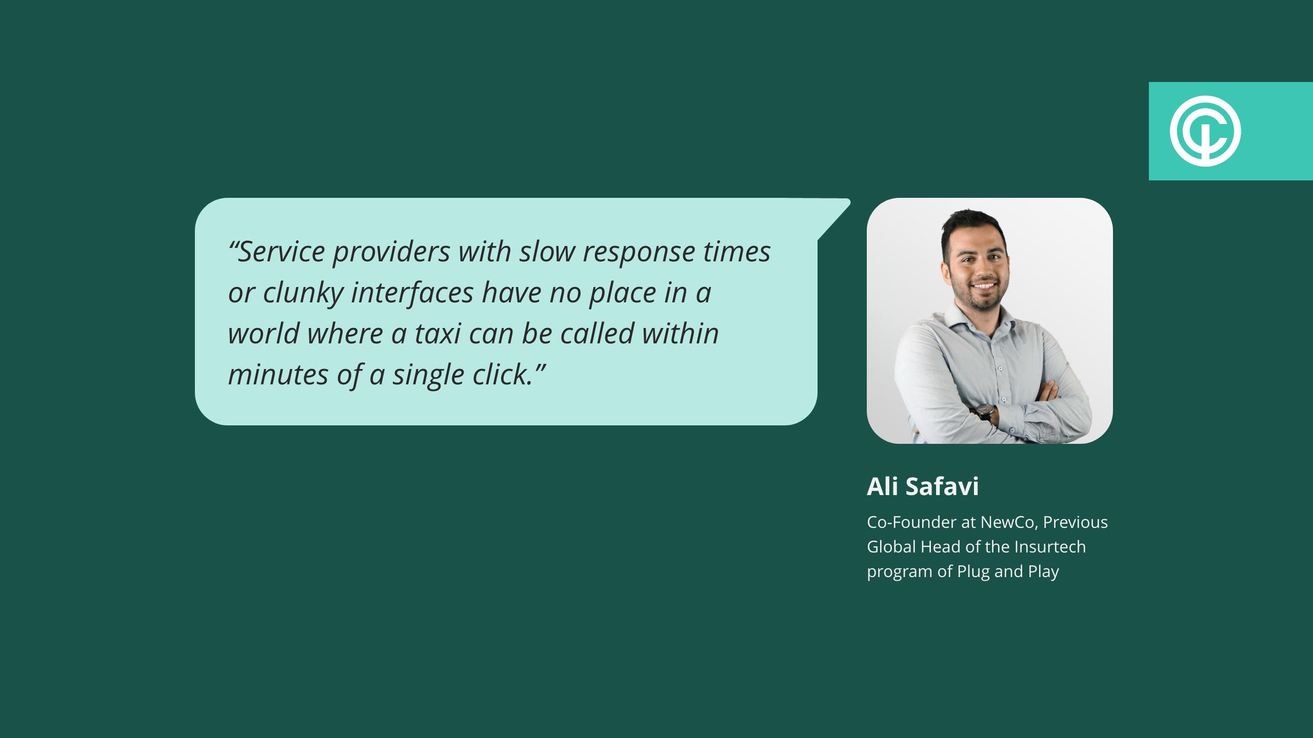 quote from ali safavi