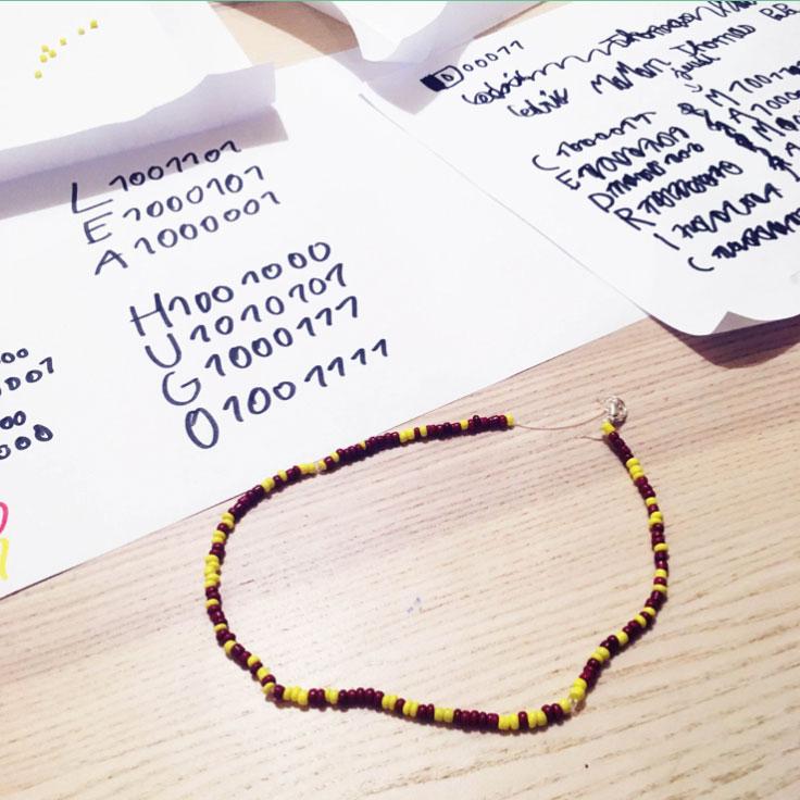 Bracelet binaire