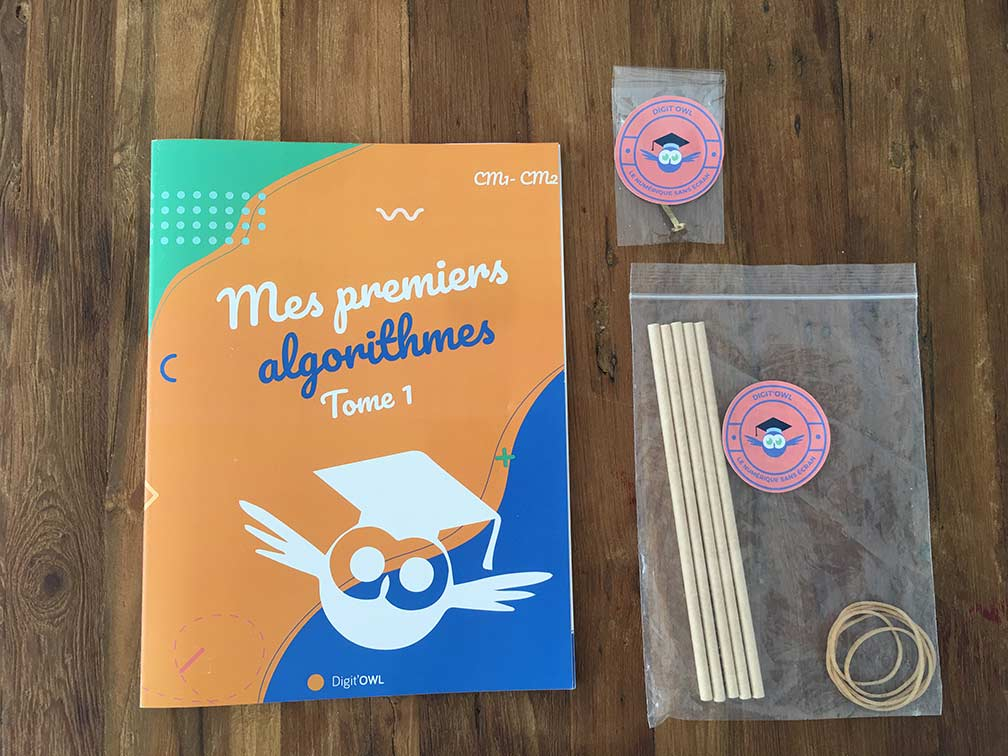 Kit plus cahier d'activités mes premiers algorithmes