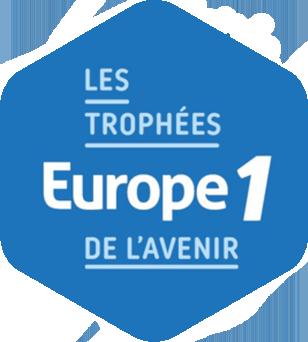 Logo trophées Europe 1 de l'avenir