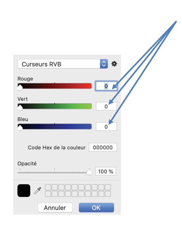 code rvb