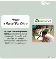 Projet « Recycl'Bot City »