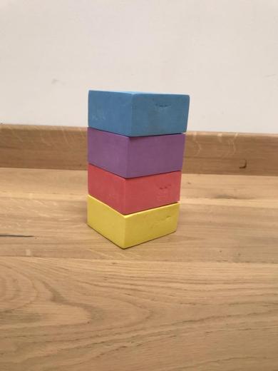 tour cube 4 couleurs
