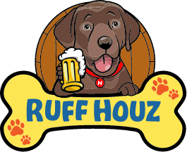 Ruff Houz Bark Park Logo