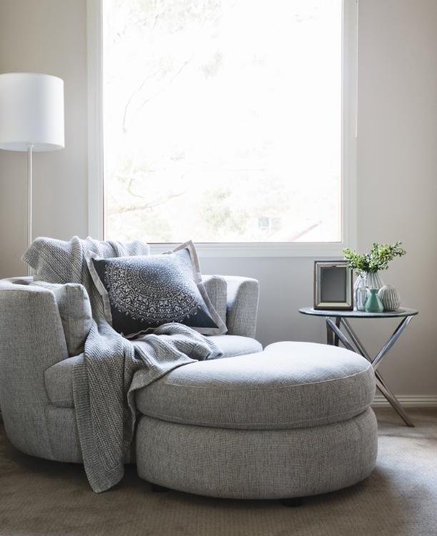 Comfy sofa chair.