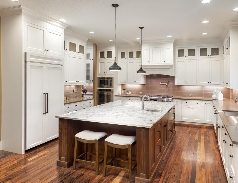 Luxury kitchen.