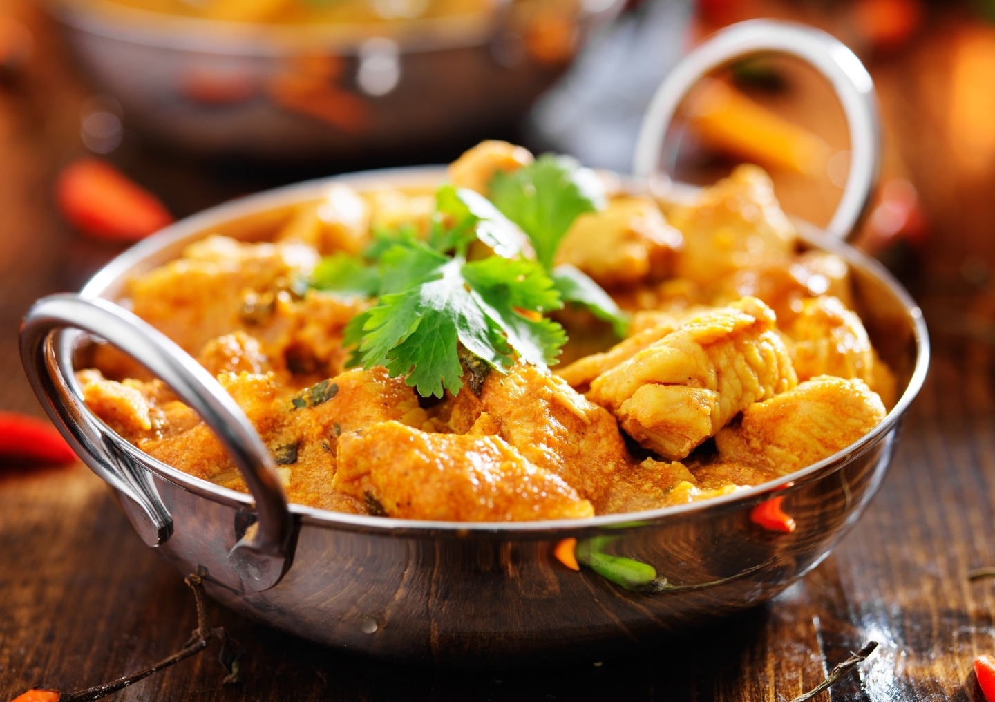 Indian chicken curry.